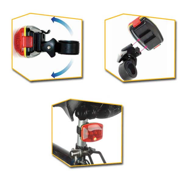Flashlight BLX-113A - AlpinPro - Waterproof bicycle flashlight