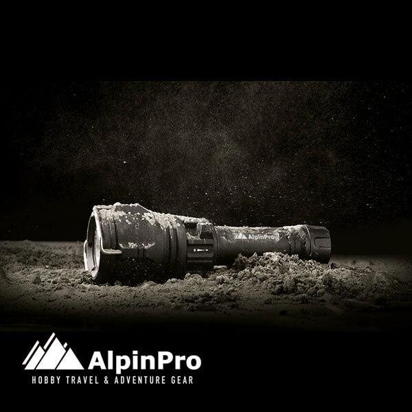 Φακός DV-01R - AlpinPro - Καταδυτικός - Επαναφορτιζόμενος