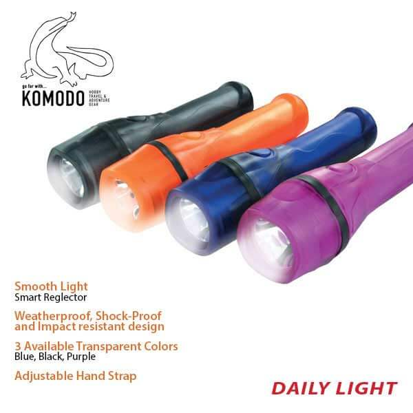 Flashlight CA-7003C - Komodo - Waterproof - REchargeble