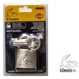 Stainless-steel 30MM padlock - Komodo