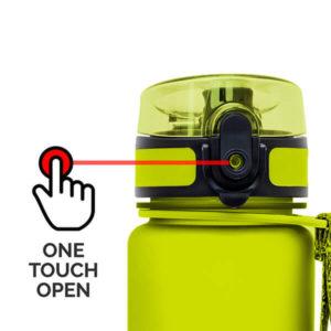 AlpinPro water bottle - easy open