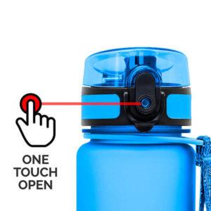 AlpinPro water bottle - one touch open
