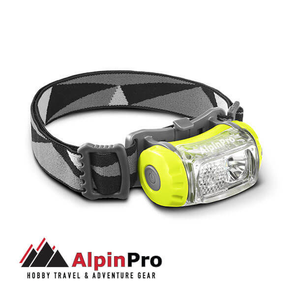 Flashlight HL-03R - AlpinPro - REchargeble - Waterproof
