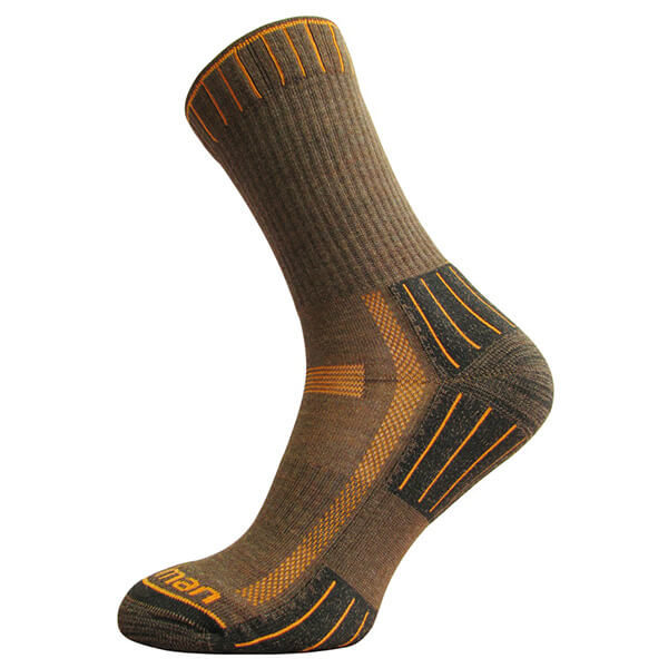 Hiking Lite Socks - Brown-Orange