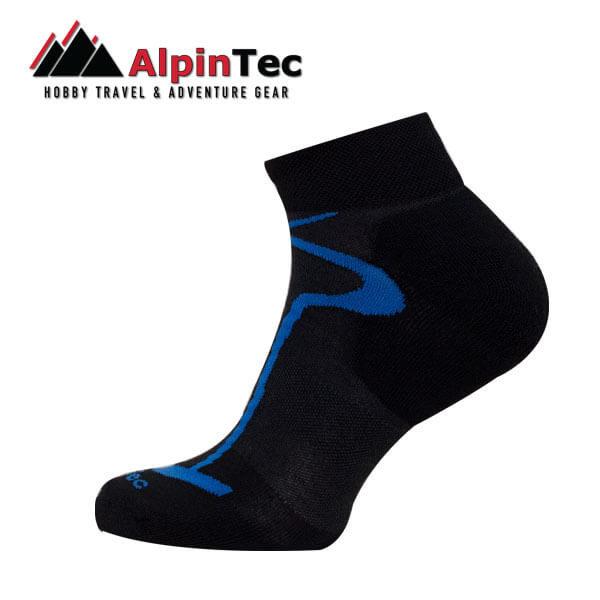 Multisport light short κάλτες - AlpinTec - μάυρο - μπλέ
