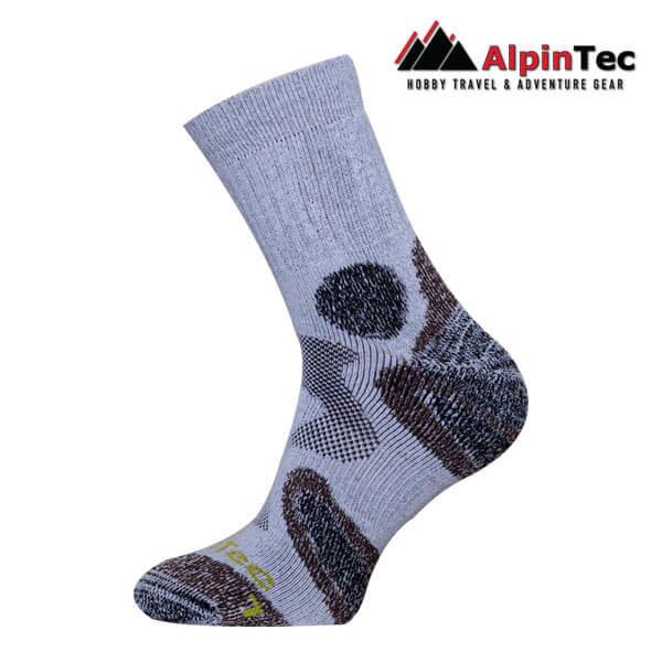 Trekking mid Κάλτσες - AlpinTec - γκρί-καφέ
