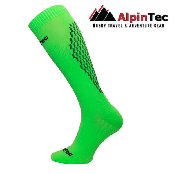 Professional High Compress Socks - AlpinTec - Κάλτσες συμπίεσης - πράσινο