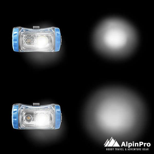 Φακός HL-03R -AlpinPro - Αδιάβροχος - Επαναφορτιζόμενος - Κεφαλής