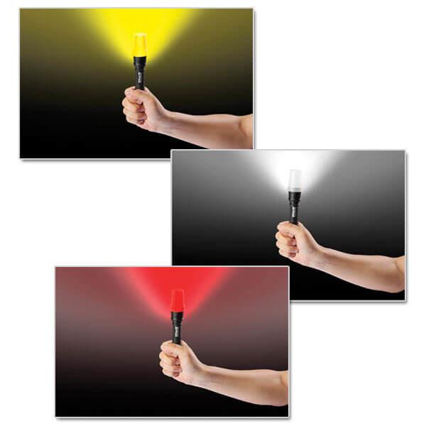Flashlight PR-60C2 - AlpinPro - Industrial work flashlight with Polymer body!