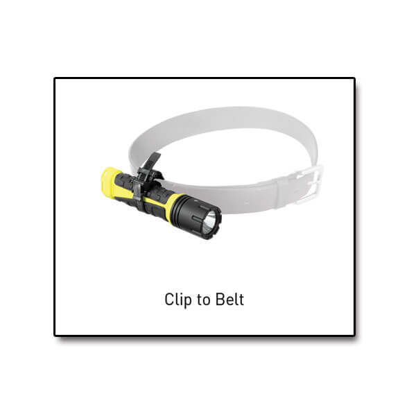 Clip RV-10 - AlpinPro - Clips flashlights to belts and helmets