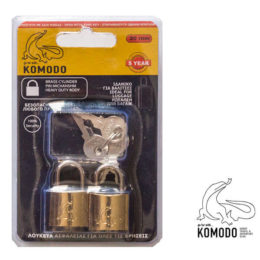 Security padlock 20mm SETx2 - Komodo - High security
