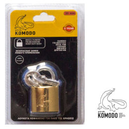 Security padlock 25ΜΜ - Komodo - High security