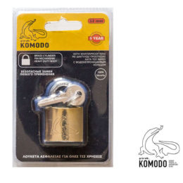 Security padlock 32ΜΜ - Komodo - High security