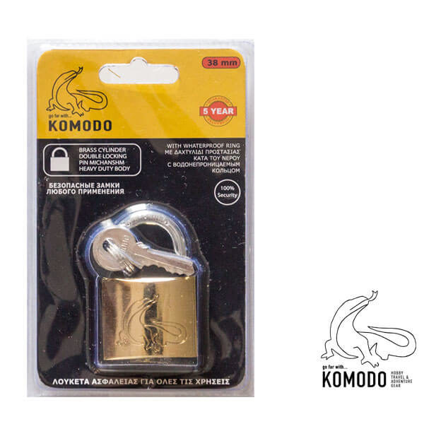 Security padlock 30ΜΜ - Komodo - High security