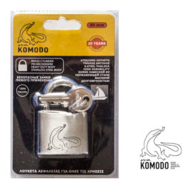 Stainless-steel padlock 40MM - Komodo - Double locking
