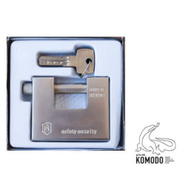"Padlock of type ""P"" 85mm - Komodo - High security"