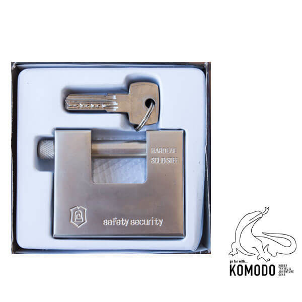 """Λουκέτο ασφαλείας τύπου """"Π"""" 85mm - Komodo - Υψηλή ασφάλεια"""