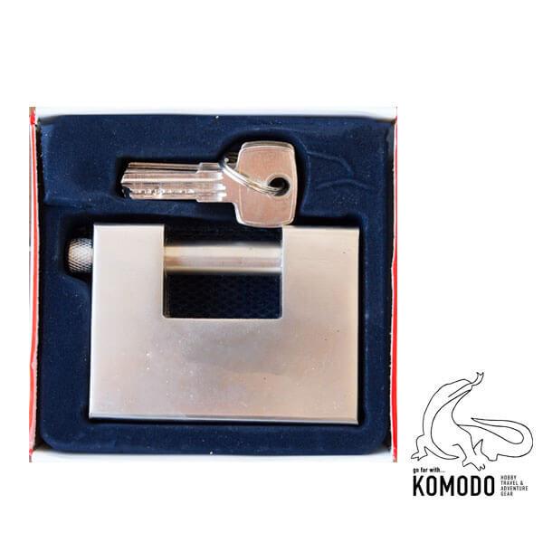 "Padlock of type ""P"" 95mm - Komodo - High security"