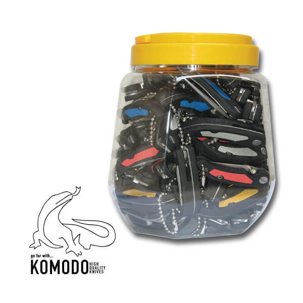 Pockeknife 22515 - 2,5 - Komodo - 60 pieces