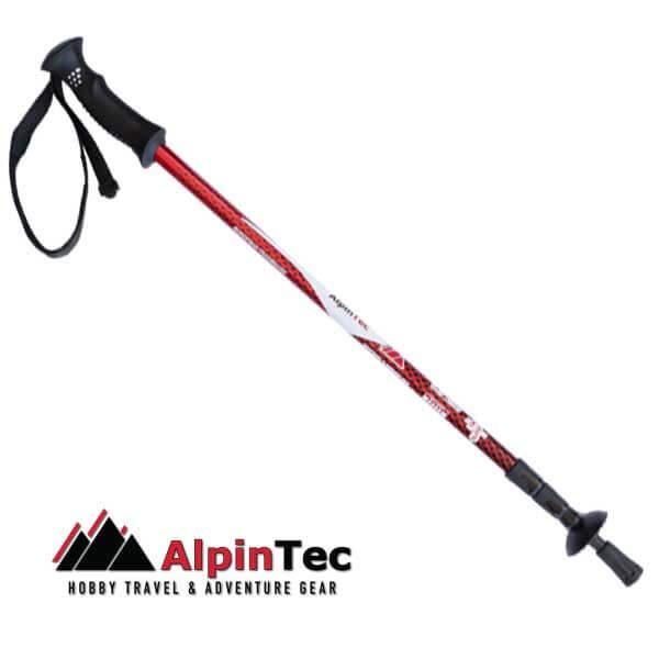 Walking Pole A6 AlpinTec - Red