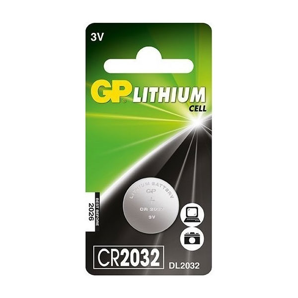 Μπαταρία GP 2032 3V Lithium Coin Cell Batteries