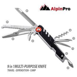 Alpinpro Stainless Steel knives