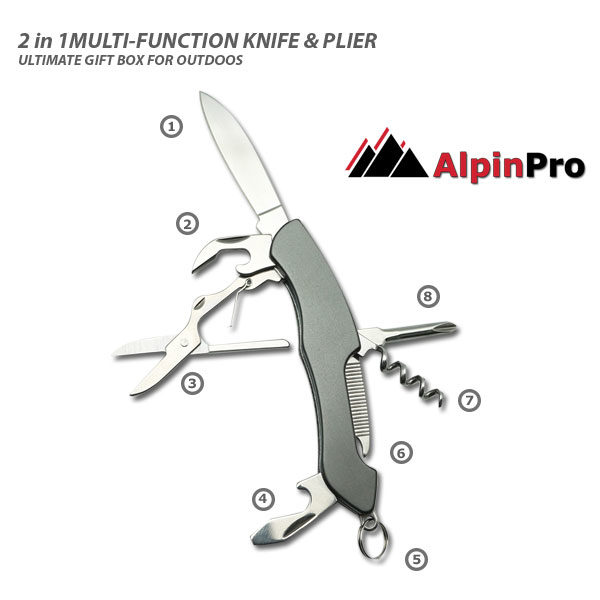 Alpinpro Stainless Steel knives