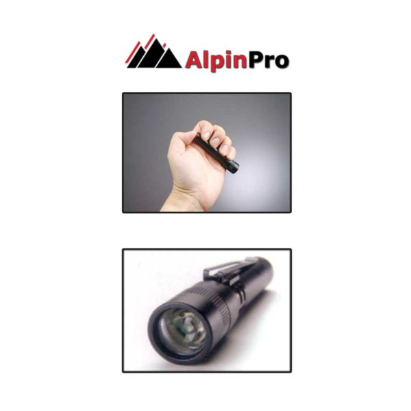 FlashLight Mini-Palm | A-13051A | Images | AlpinPro