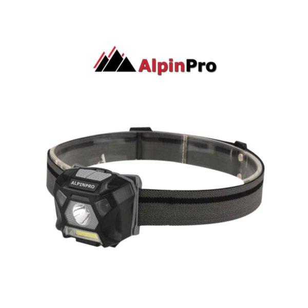 FLASHLIGHT WH-302 - SENSOR+ Waterproof flashlight ALPINPRO