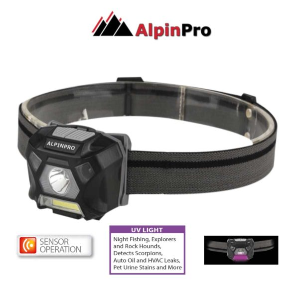 FLASHLIGHT WH-302UV | SENSOR+ UV | AlpinPro