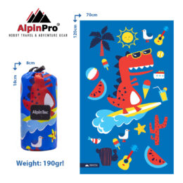 Alpintec_Beach_Towel_Kids_Dino_70x120