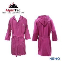 BathRobe_Μπουρνουζι_AlpinTec_Pink