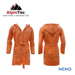 BathRobe_Μπουρνουζι_AlpinTec_orange