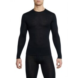 MERINO ONE50 LONG-SLEEVE SHIRT-black